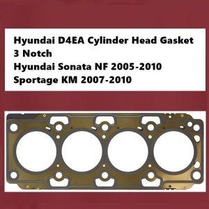 Hyundai D4EA Cylinder Head Gasket 3 Notch