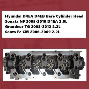 Hyundai D4EA D4EB Bare Cylinder Head