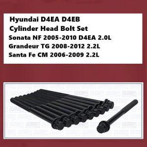 Hyundai D4EA D4EB Cylinder Head Bolt Set