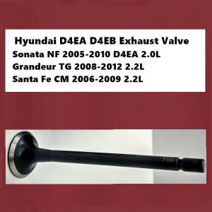 Hyundai D4EA D4EB Exhaust Valve