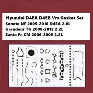 Hyundai D4EA D4EB Vrs Gasket Set