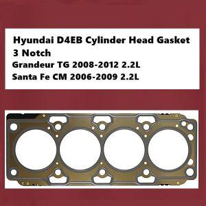 Hyundai D4EB Cylinder Head Gasket 3 Notch