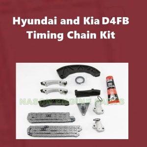 Hyundai and Kia D4FB timing chain kit