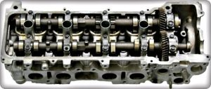 Toyota complete 3RZ-FE cylinder head