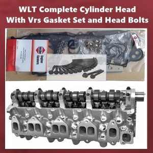 WLT Complete Cylinder Head With Vrs Gasket Set and Head Bolts