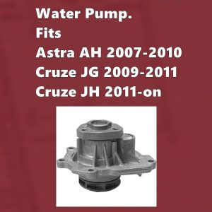 Holden Cruze F18D4 Water Pump