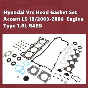 Hyundai G4ED-2 Vrs Gasket Set