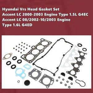 Hyundai G4ED G4EC Vrs Gasket Set-