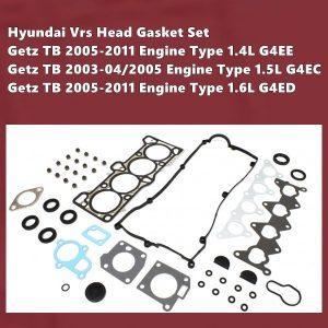 Hyundai G4ED Vrs Gasket Set