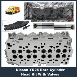 Nissan Navara Pathfinder YD25 Cylinder Head Kit with valves