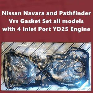 Nissan Navara and PathfinderYD25 vrs gasket set 4 inlet ports