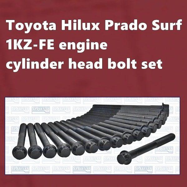 Toyota 1KZ-FE cylinder head bolt set