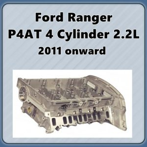Ford Ranger PX P4AT Duratorq 22 Cylinder Head