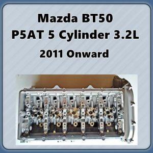 Mazda BT-50 P5-AT Assembled Cylinder Head
