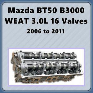 Mazda BT50 B3000 Cylinder Head 3.0L WEAT