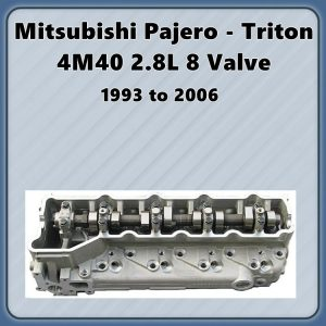 Mitsubishi 4M40T Complete Cylinder Head