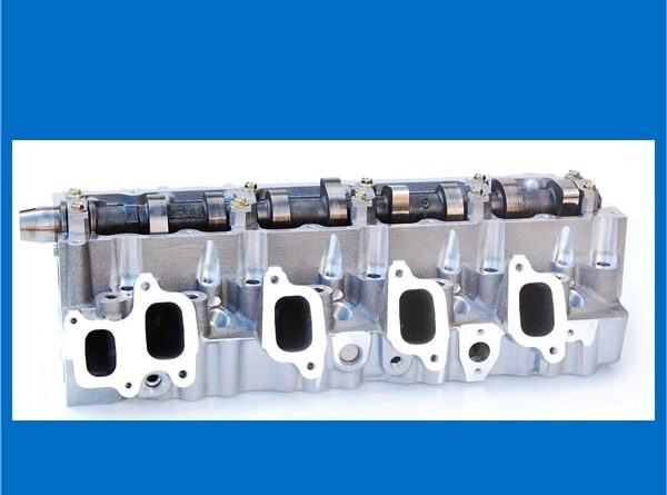 Toyota 1KZ-TE Complete Cylinder Head