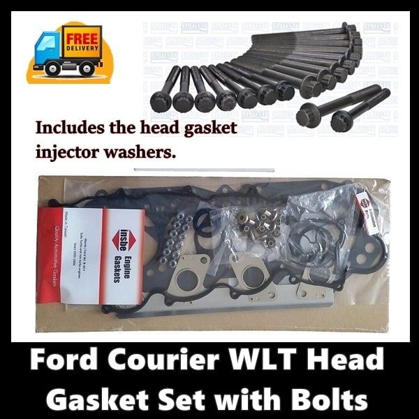 Ford Courier WLT Head Gasket set with Bolts