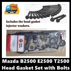 Mazda B2500 E2500 T2500 12 Valve Cylinder Head gasket set