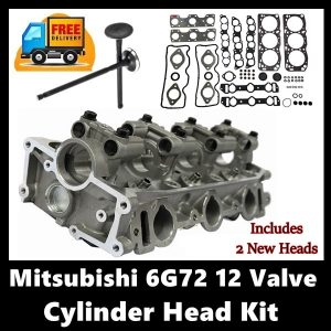 Mitsubishi 6G72 12 Valve Cylinder Head Kit