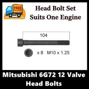 Mitsubishi 6G72 12 Valve Head Bolts