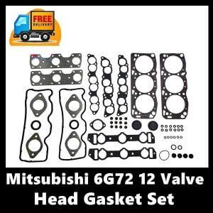 Mitsubishi 6G72 12 Valve Head Gasket Set