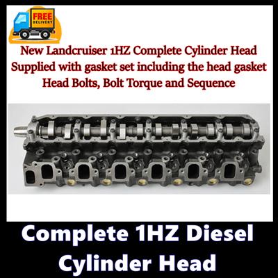Complete 1HZ Diesel Cylinder Head
