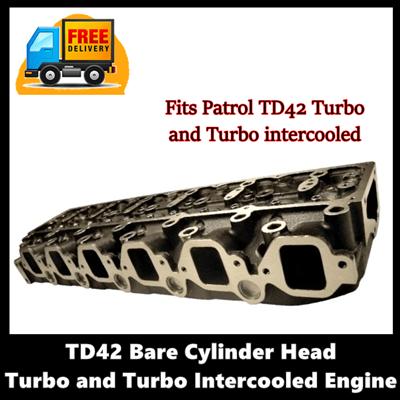 TD42 Bare Cylinder Head Turbo Engine
