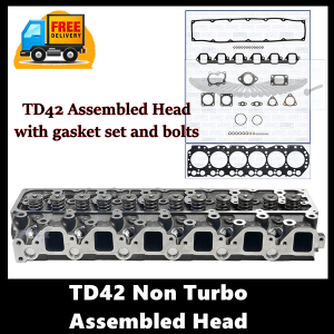 TD42 non turbo assembled cylinder head
