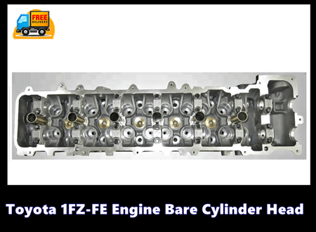 Toyota 1FZ-FE Engine Bare Cylinder Head