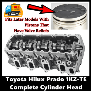 Toyota Hilux Prado Surf 1KZ-TE Complete Cylinder Head with Gasket Set with Head Bolts Late