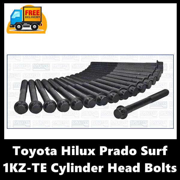 Toyota Hilux Prado Surf 1KZ-TE Cylinder Head Bolts