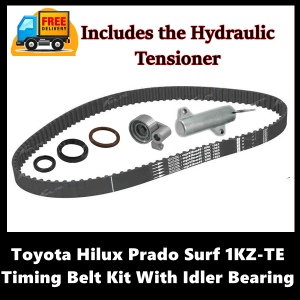 Toyota Hilux Prado Surf 1KZ-TE Timing Belt Kit With Idler Bearing and Hydraulic Tensioner