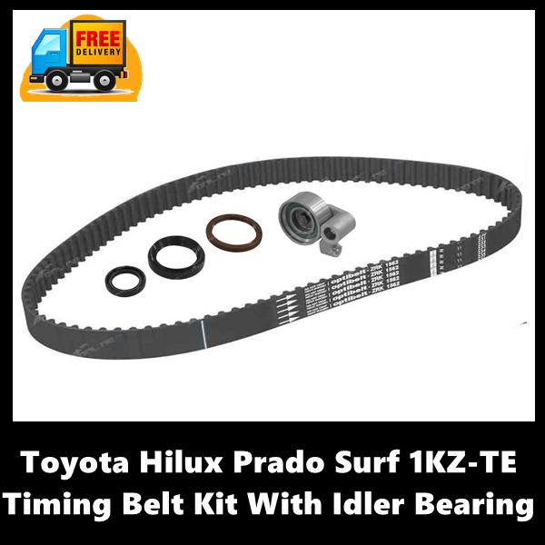Toyota Hilux Prado Surf 1KZ-TE Timing Belt Kit With Idler Bearing