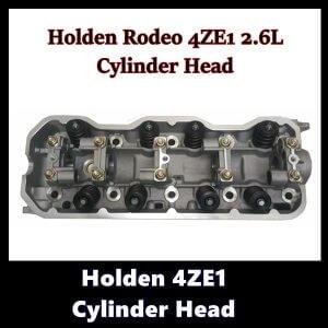 Holden 4ZE1 2.6Ltr Cylinder Head with Valves