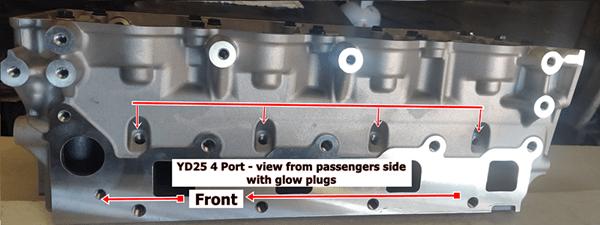 YD25 4 port passenger side-